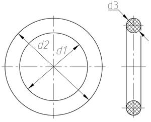 Резиновые кольца уплотнительные